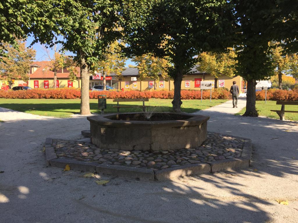 Gamla torget i Löberöd